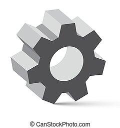 Cog - Gear Vector