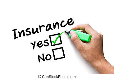 hand drawing Insurance concept