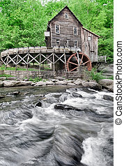 Glade Creek Grist Mill - The Beautiful historic Glade Creek...
