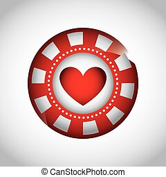 records casino game icon vector illustration design