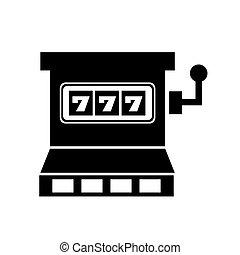 jackpot slots machine icon