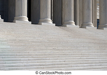 Supreme Court - United States Supreme Court Steps