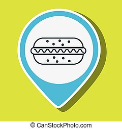 hot dog fast food