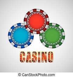 records casino game icon vector illustration design