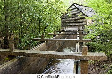 cable mill - Cable Mill, Cades Cove, Great Smoky Mountains...