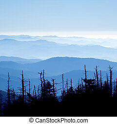 Great Smoky Mountains National Park - Beautiful view form...