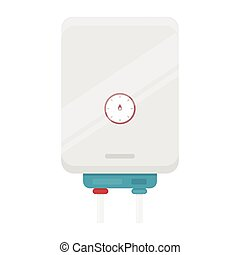 Boiler icon in cartoon style isolated on white background....