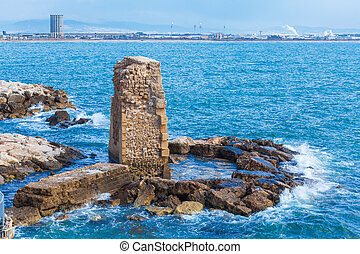 Remains of Ancient Harbor, Acre