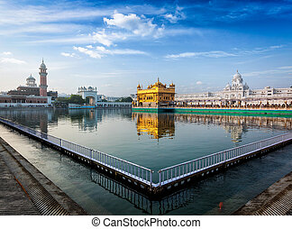 Golden Temple, Amritsar - Sikh gurdwara Golden Temple...