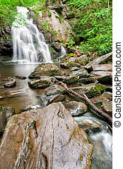 Spruce Flat Falls - Beautiful Spruce Flat Falls in Great...