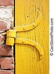 door hinge - the yellow door hinge