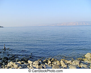 Sea Of Galilee - Sea of Galilee taken from north part near...