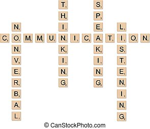 Communication concept board game