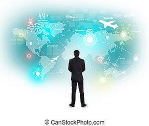 Social network and Modern communication technology