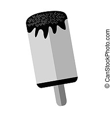 delicious popsicle sweet icon vector illustration design