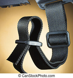 Rifle sling - Modern sling that is attached to an AR-15...