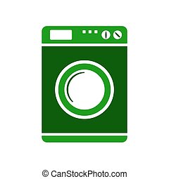 Washing machine symbol sign. - Washing machine symbol sign...