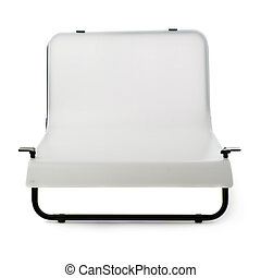 Photo shooting table over isolated white background - Small...