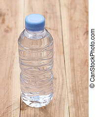 Plastic of Water bottles.