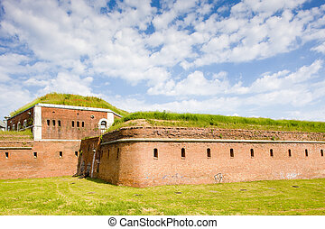 fortification, Zamosc, Poland