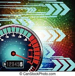 Speedometer background