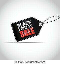 Black Friday sales tag - Illustration of Black Friday sales...