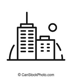 office building vector illustration design