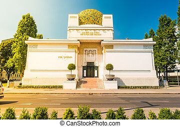 The Secession Building, Wiener Secessionsgebaude -...