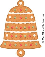 Gingerbread Bell - Gingerbread bell, traditional Christmas...