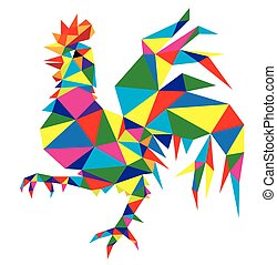 Geometric Rooster
