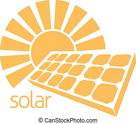 Solar Energy Panel Sun Concept