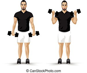 training biceps
