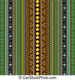 African texture - Background with traditional african design