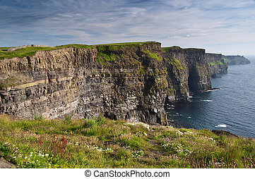 scenic nature landscape photography, rural nature ireland -...