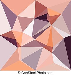 Almond Beige Abstract Low Polygon Background - Low polygon...