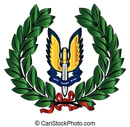 Special Air Service Tribute - A depiction of the Special Air...