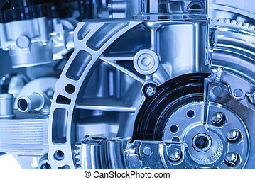 Automotive transmission gearbox
