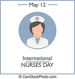 Nurses day Stock Illustrations. 265 Nurses day clip art images and ...
