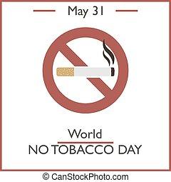 World No Tobacco Day, May 31