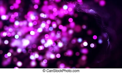 HD Loopable Background with nice pink bokeh - HD Loopable...