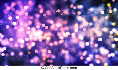 HD Loopable Background with particles and nice bokeh