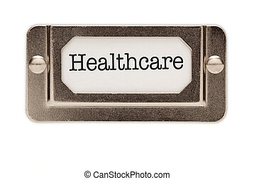 Healthcare File Drawer Label