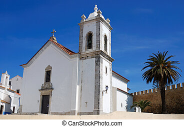 Church of Vasco da Gama in Sines, Portugal - The parish...