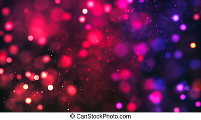 HD Loopable Background with nice red bokeh