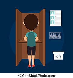 avatar man voting elections