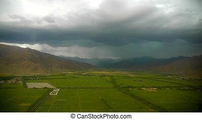 Landing in Lhasa