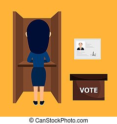 avatar woman voting elections
