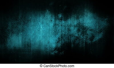 Darkness blue grunge texture loop - Looping darkness and...