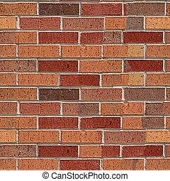 Brick seamless pattern.