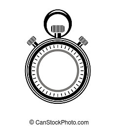 Second Timer Icon Isolated. Watch Logo. - Second Timer Icon...
